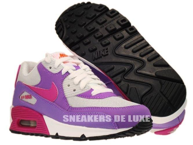 ... nike air max 90 pure platinum/fusion pink/laser purple ...