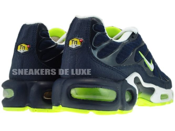 605112-416 Nike Air Max Plus TN 1 Obsidian/White-
