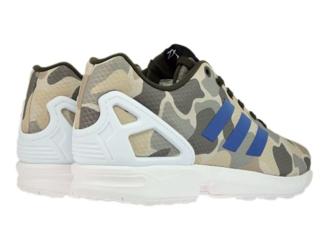 adidas ZX Flux chaussures 7,5 umber/blue/white