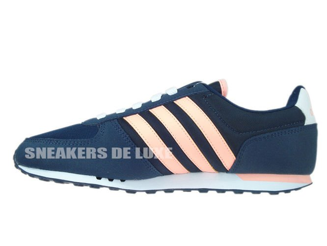 buy popular 8ab9b 46b7b F99367 adidas NEO City Racer W collegiate navy  light flash orange s15 ...