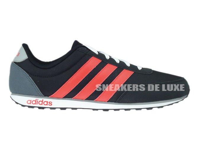 f99392 adidas neo v racer nucleo nero / rosso / chiara onix