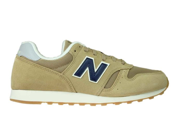 new balance 373 navy tan