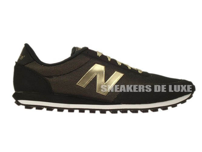 new balance 410 sneakers black/gold