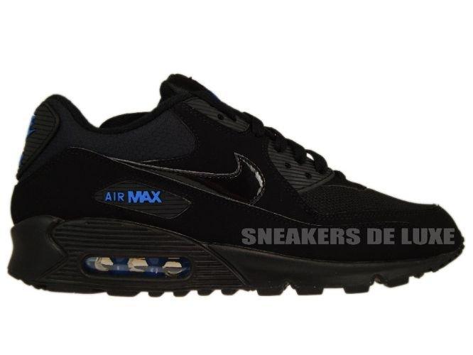 Nike Air Max 90 Negro 309299  Negro Azul Spark 309299 Negro 906 309299 906 Nike a5cc67
