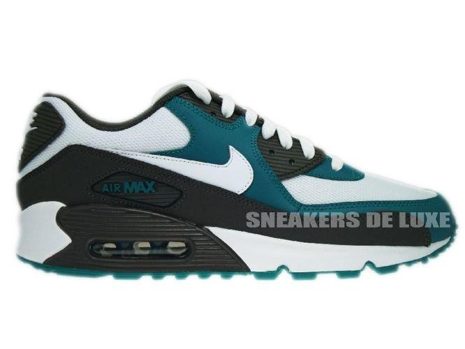 Nike Air Max 90 White/Midnight Fog-Lush Teal 325018-059 ...