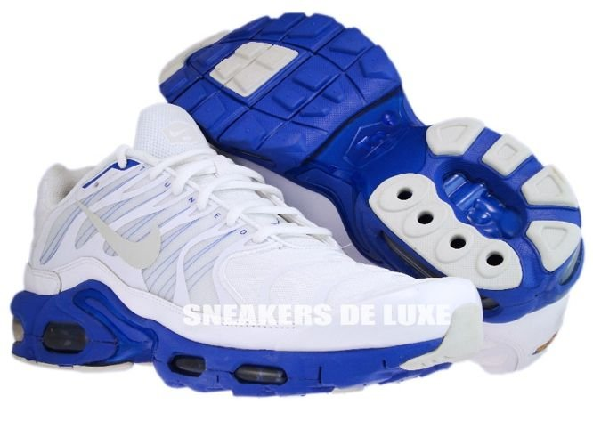 Nike Air Max TN White Blue Shadow .