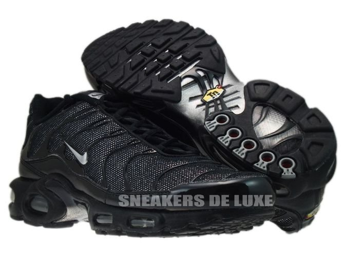Nike Air Max Plus TN 1 Black/Metallic-Silver Black .