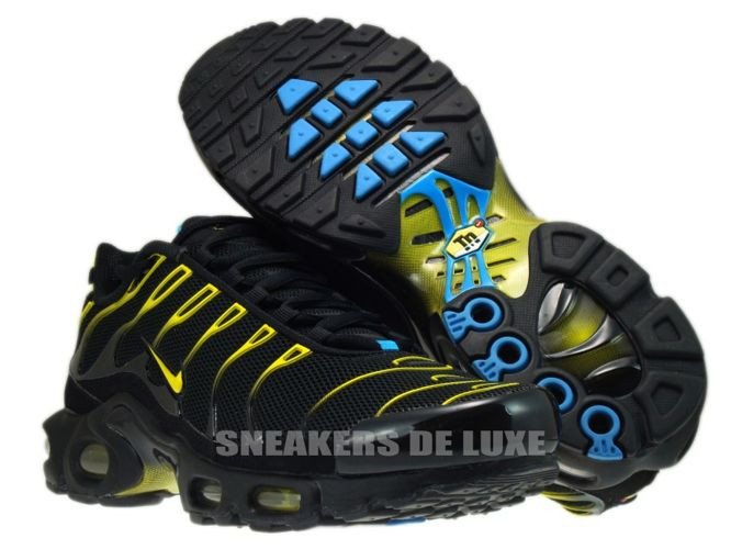0bfd90cef5aa Nike Air Max Black Yellow Blue