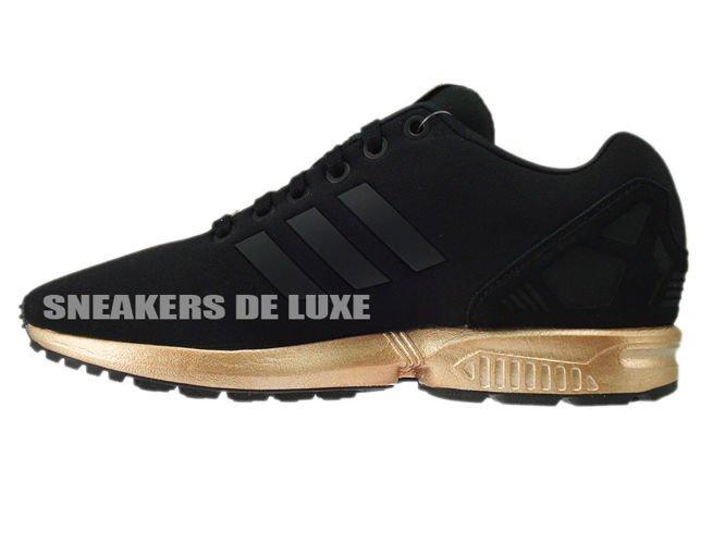 new style cea01 04a3d ... usa adidas zx flux color core black black light copper metallic . 3af8e  a54f1