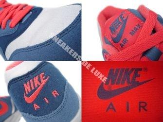 319986-022 Nike Air Max 1 Wolf Grey/ Sunburst-Utility Blue-Light M 319986-022