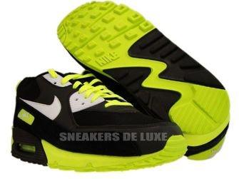 325018-099 Nike Air Max 90 Black/White-Volt