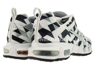 363887-101 Nike Tuned X 10 Metallic Silver/Anthracite White