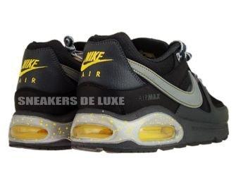 397689-008 Nike Air Max Command Black/Metallic Silver-Dark Grey