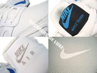 429628-107 Nike Air Waffle Trainer White/Neptun Blue-Neutral Grey-Black