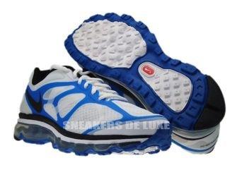 487982-104 Nike Air Max+ 2012 White/Black-Blue Spark