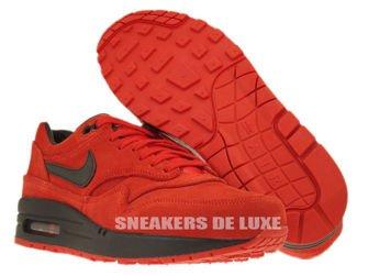 512033-610 Nike Air Max 1 Premium Pimento/Black-Black