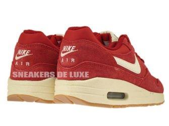 555766-600 Nike Air Max 1 Gym Red / Sail - Black - Black