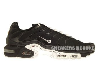 604133-091 Nike Air Max Plus TN 1 Black / Chrome-Black