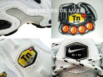 604133-107 Nike Air Max Plus TN 1 White/Black Silver