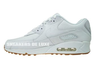 705012-111 Nike Air Max 90 Leather PA White/White-Gum Light Brown