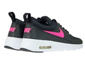 nike air max thea black and pink