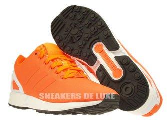 B34509 adidas ZX Flux solar orange / solar orange / core black