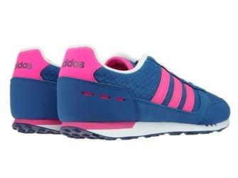 B74492 adidas City Racer W Core Blue/Shock Pink/Mystery Blue