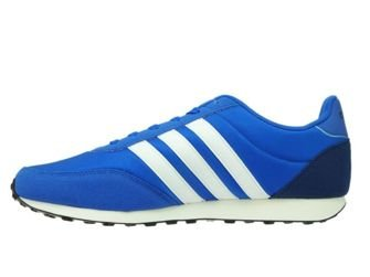 BC0107 adidas V Racer 2.0 NEO Blue/Ftwr White/Mystery Blue
