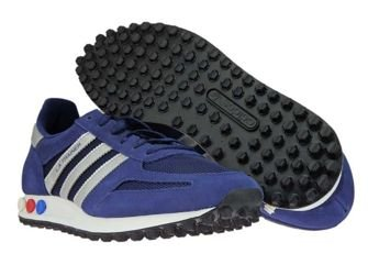 CQ2278 adidas LA Trainer Dark Blue/Matallic Silver/Dark Grey
