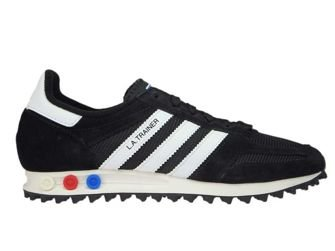 CQ2277 adidas LA Trainer Core Black/Ftwr White/Viintage White