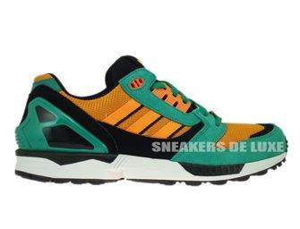 D65459 Adidas Originals ZX 8000 Fresh Green/Zest/White Vapor