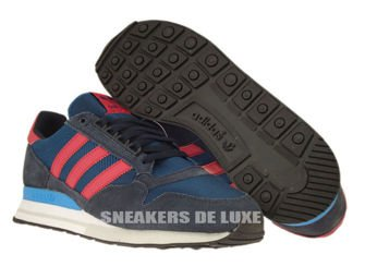 D65577 adidas Originals ZX 500 OG Tribe Blue / Red Beauty / Legend Ink