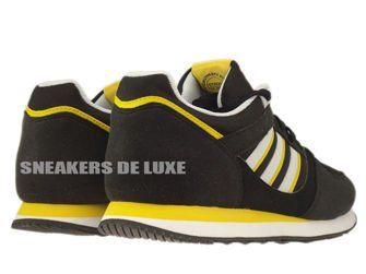 D67735 adidas Originals ZX 100 Black / Clear Grey / Sunshine