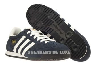G50919 adidas Dragon Dark Blue / White / Gold Met