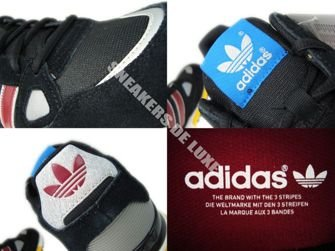 G96725 Adidas ZX 750 Originals Black/Cardinal/White