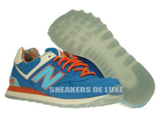 "ML574IBL New Balance 574 Blue Light ""Island Pack"""