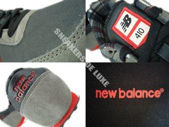 New Balance U410FGR Gray / Red