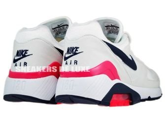 Nike Air Max 180 White/Midnight Navy-Solar Red 310155-105