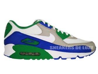 Nike Air Max 90 Granite/Varsity Royal-Lucky Green 309299-023