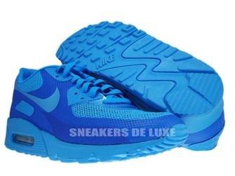 Nike Air Max 90 Premium Hyperfuse Blue Glow/Blue Glow 454446-400