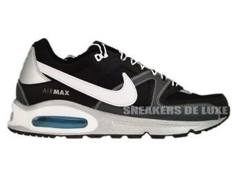 Nike Air Max Command Black/White Dark Grey Metallic Silver 397689-016