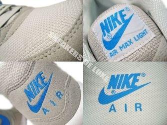 Nike Air Max Light Neutral Grey/Blue Glow-White 315827-038