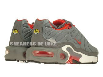 Nike Air Max Plus TN 1 Cool Grey/Challenge Red-White
