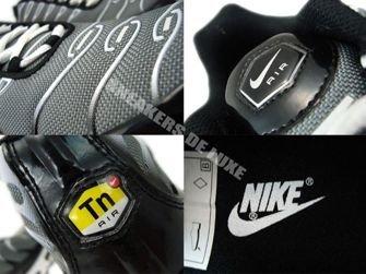 Nike Air Max Plus TN 1 Premium Cool Grey/Metallic Silver-White 387179-005