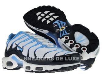 Nike Air Max Plus TN 1 White/Football Blue-Dark Obsidian