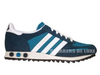 Q20744 Adidas Originals LA Trainers Vivid Teal/Dark Petrol/Running White