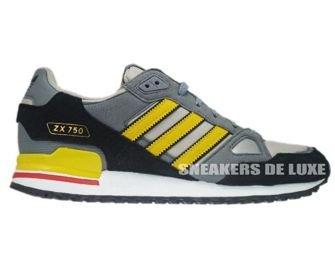 Q23657 Adidas ZX 750 Originals Colsil/Sunshi/Black