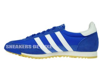 S32087 adidas Dragon Vintage Blue/Ftwr White/Collegiate Royal