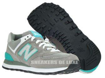 WL574SNG New Balance Grey / Teal