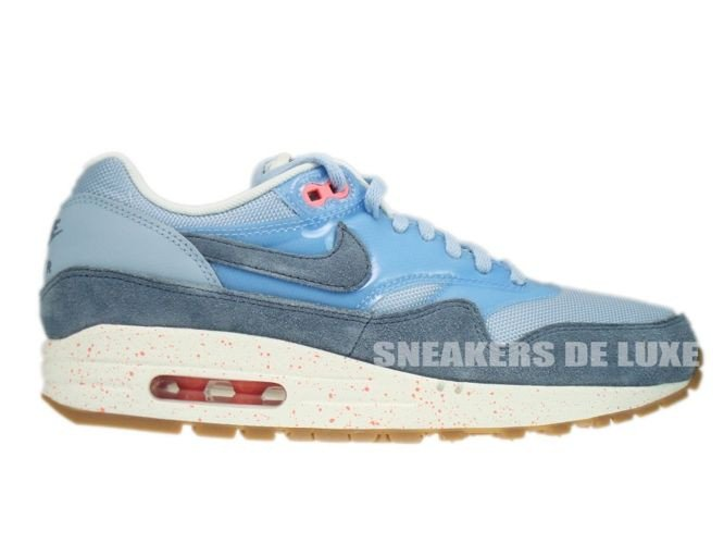 outlet store 5fdb7 624bd top quality 319986 402 nike air max 1 light armory blue armory slate atomic  pink b4999
